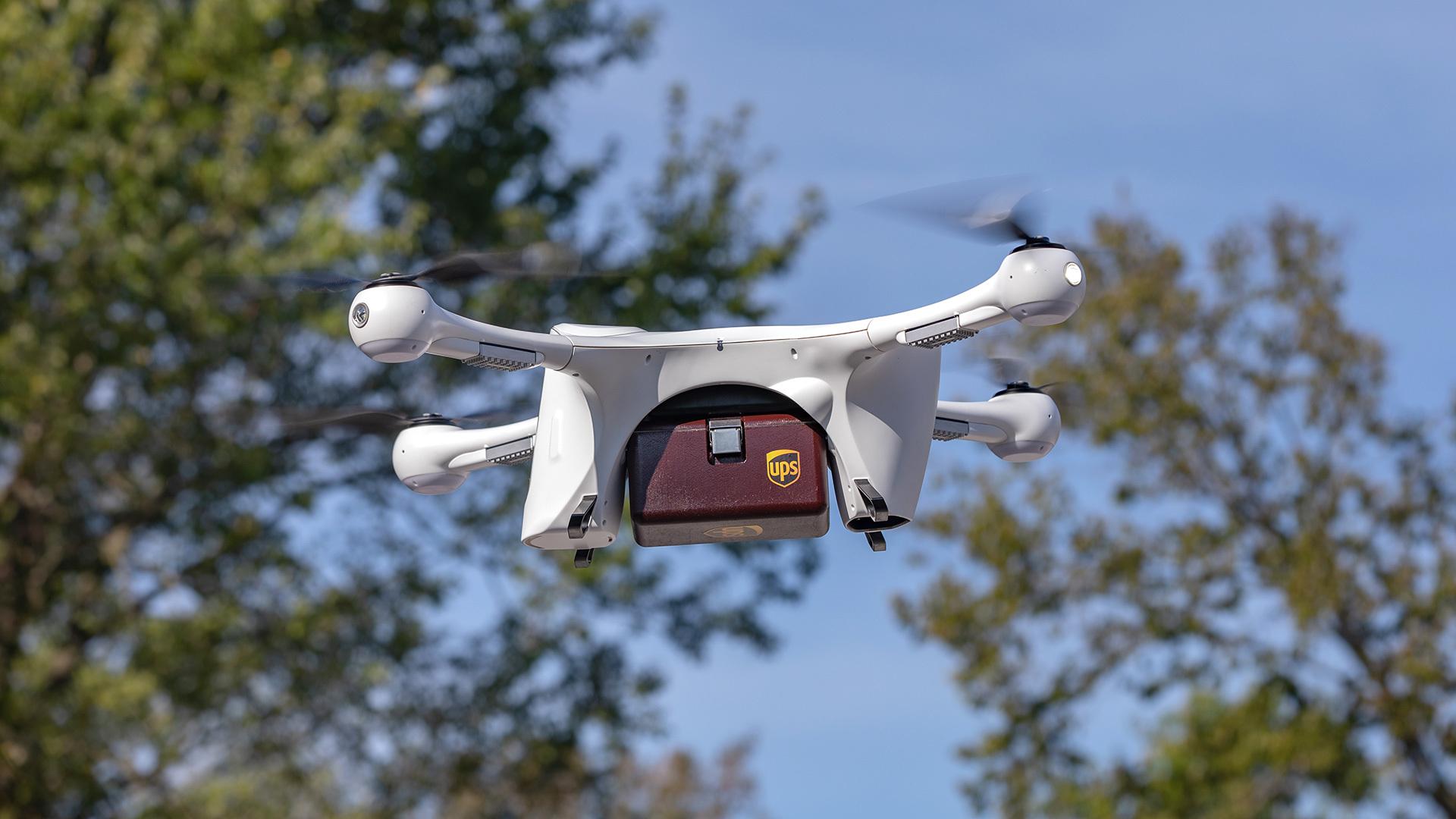 Drony zamiast samolotów. Pierwsza taka linia lotnicza z pozwoleniem na latanie